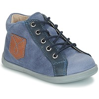 Shoes Boy Mid boots André POCHE Blue