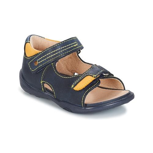 Shoes Boy Sandals André VOYAGE Marine
