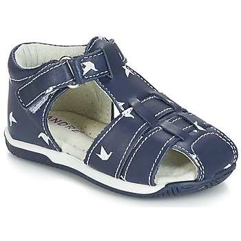 Shoes Boy Sandals André ORIGAMI Blue