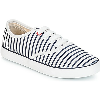Shoes Girl Low top trainers André MARINETTE White