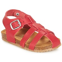 Shoes Children Sandals André AVIRON Red