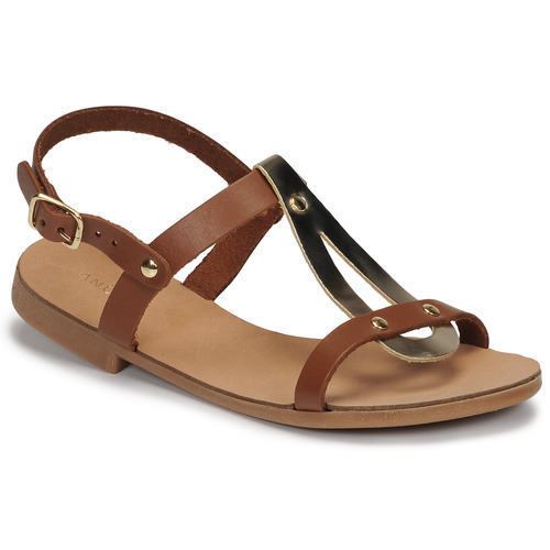 Shoes Girl Sandals André TOUFOU E Camel