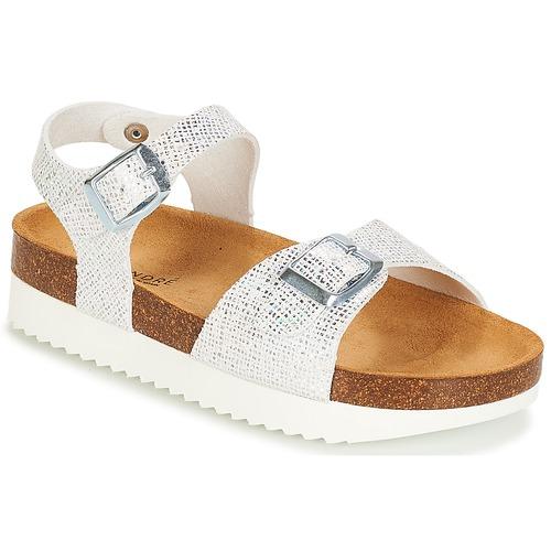 Shoes Girl Sandals André LAURE Silver