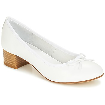 Shoes Women Ballerinas André POETESSE White