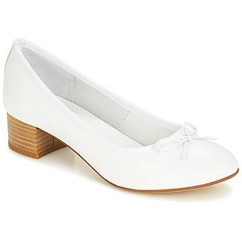 Shoes Women Ballerinas André POETESSE White