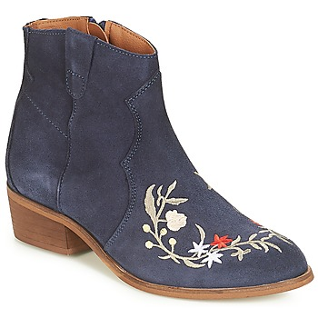 Shoes Women Mid boots André WEST Marine