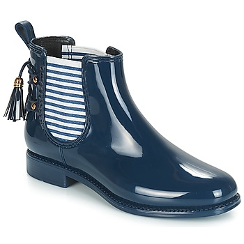 Shoes Women Wellington boots André BLEUENN Marine