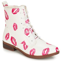 Shoes Women Mid boots André PILAT White