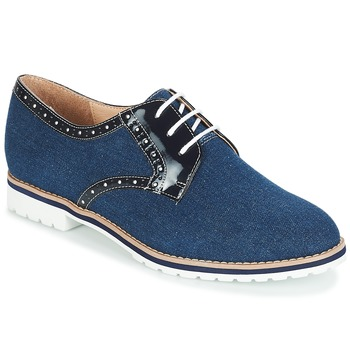 Shoes Women Derby shoes André DERIVEUR Marine