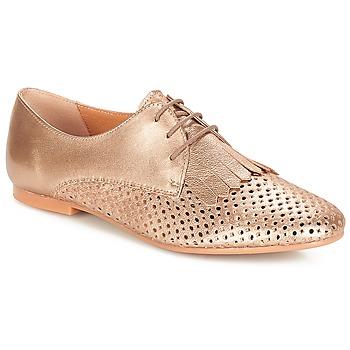 Shoes Women Derby shoes André DELICAT Gold