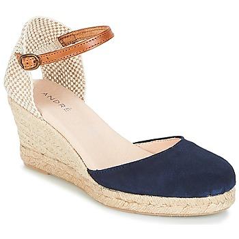 Shoes Women Espadrilles André HABILE Marine