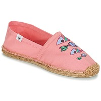 Shoes Women Espadrilles André POISSON VOLANT Pink