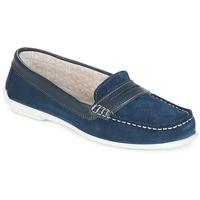Shoes Women Loafers André FRIOULA Marine