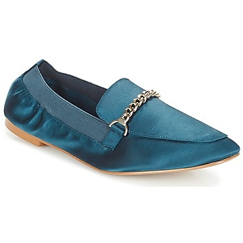 Shoes Women Loafers André AMULETTE Blue