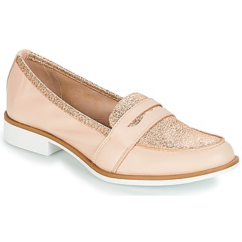 Shoes Women Loafers André ROCKAWAY Nude