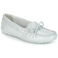 Shoes Women Loafers André FRIDA Silver