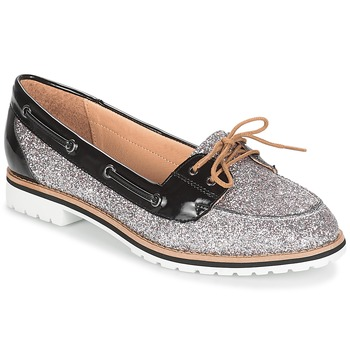 Shoes Women Loafers André JAY Silver