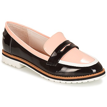 Shoes Women Loafers André PORTLAND Pink