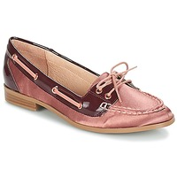 Shoes Women Loafers André NONETTE Pink