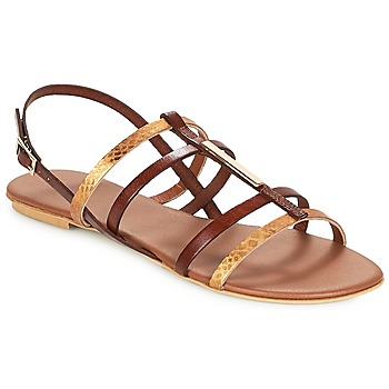 Shoes Women Sandals André MANDAWA Brown