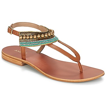 Shoes Women Sandals André MAYOTTE Brown