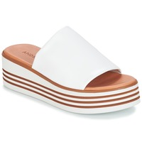 Shoes Women Mules André LARRY White