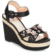 Shoes Women Sandals André IXIA Black