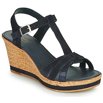 Shoes Women Sandals André ALOE Marine