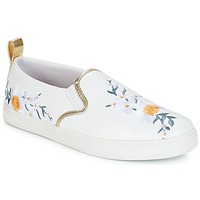 Shoes Women Slip ons André CHARDON White