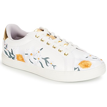Shoes Women Low top trainers André COROLLE White