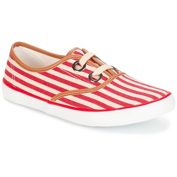 Shoes Women Low top trainers André MELON Red
