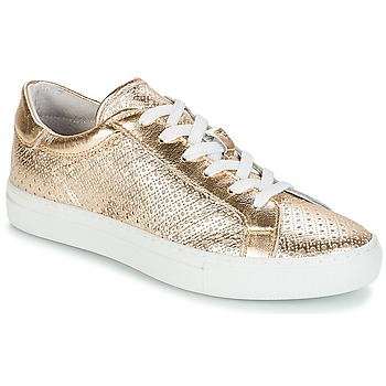 Shoes Women Low top trainers André FELICIA Gold