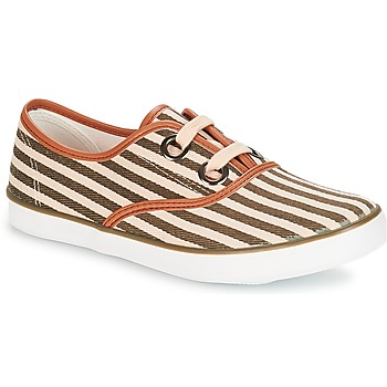 Shoes Women Low top trainers André MELON Kaki