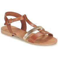 Shoes Women Sandals André CAYO COCOS Camel