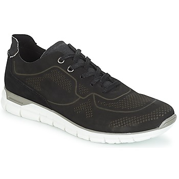 Shoes Men Low top trainers André GUIDO Black