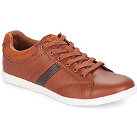 Shoes Men Low top trainers André DONATELLO Camel