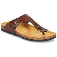 Shoes Men Flip flops André MARAIS Brown