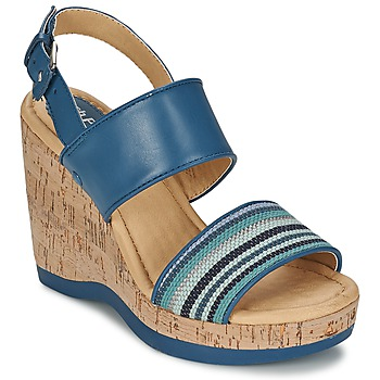 Shoes Women Sandals Hush puppies GRACE LUCCA Blue
