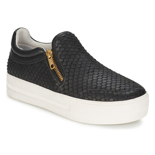 Shoes Women Slip ons Ash JORDY Black