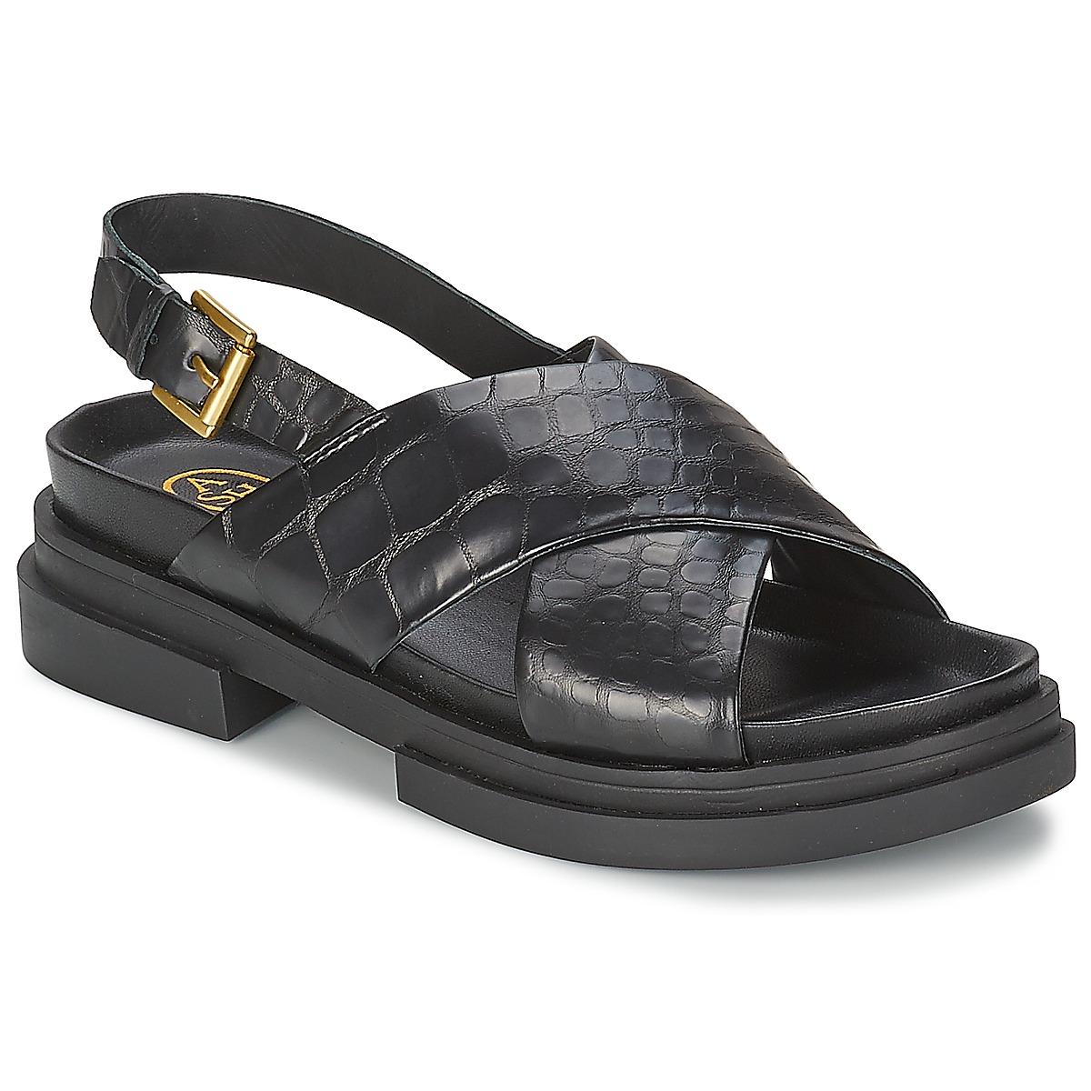 Sandals Ash SUE Black