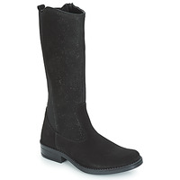 Shoes Girl Boots Citrouille et Compagnie JINNY Black