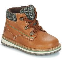 Shoes Boy Mid boots Citrouille et Compagnie JOBA Brown