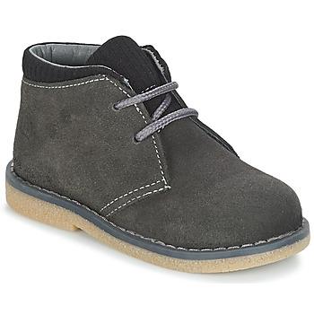 Shoes Boy Mid boots Citrouille et Compagnie JUSSA Grey