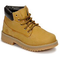 Shoes Children High top trainers Citrouille et Compagnie JERYU Yellow