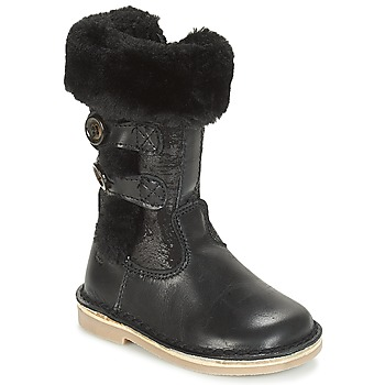 Shoes Girl Boots Citrouille et Compagnie JOSY Black