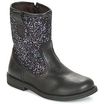 Shoes Girl Mid boots Citrouille et Compagnie JUCKER Black