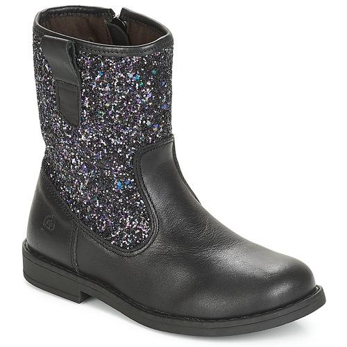 Shoes Girl Mid boots Citrouille et Compagnie JUCKER Black