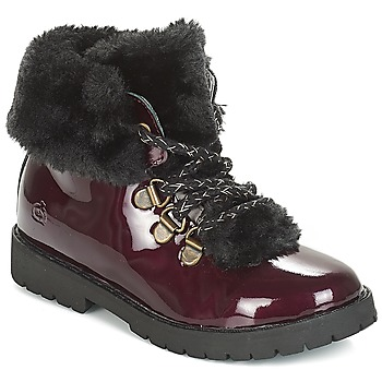 Shoes Girl Mid boots Citrouille et Compagnie JUTTER Bordeau / Varnish