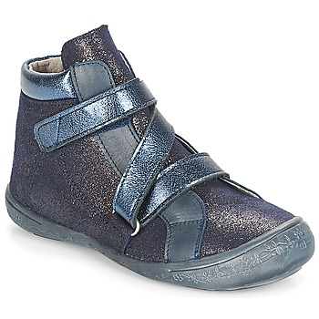 Shoes Girl High top trainers Citrouille et Compagnie HISSOU Blue