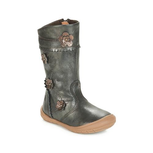 Shoes Girl Boots Citrouille et Compagnie JAMATIS Bronze